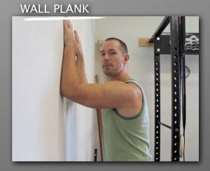 Wall Plank progression