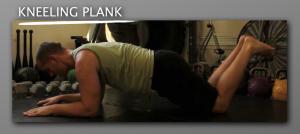 Kneeling Plank progression