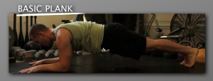 basic Plank progression