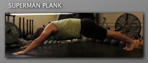 Superman Plank progression